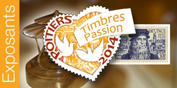 Exposants Timbres-Passion © philapoitiers2014